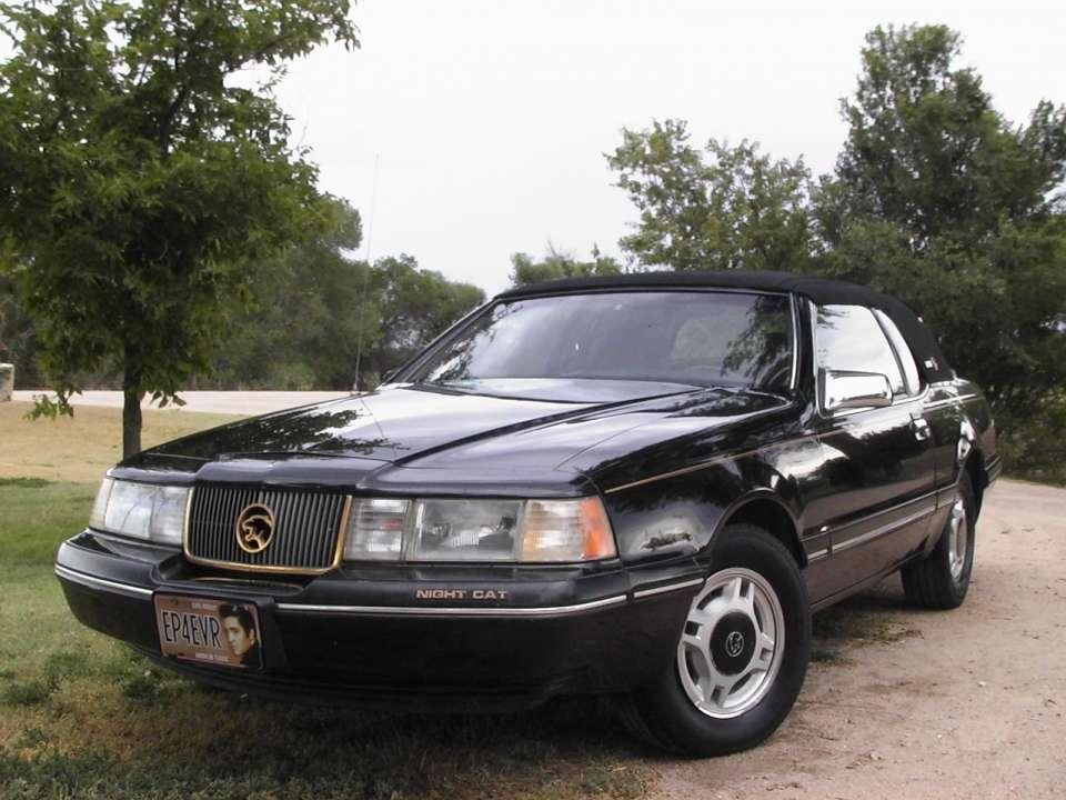 1988 Mercury Cougar Night Cat photo