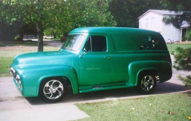 1955 Ford F-100 Panel Truck photo