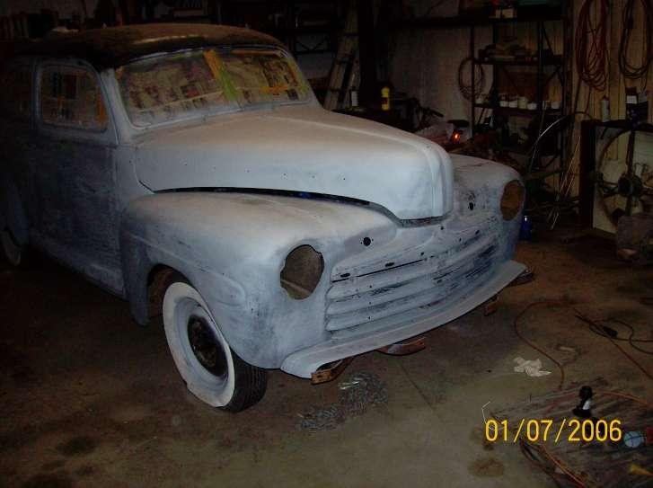 1946 Ford Special Deluxe Project Car photo