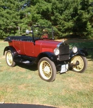 1926 Ford Model T Touring photo